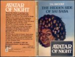 Tal Brooke Avatar Of The Night - The Hidden Side Of Sai Baba
