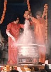 Sathya Sai Vibuthi Abhishekam