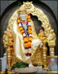 Sai Baba - Golden Throne