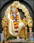 Sai Baba - Golden Throne