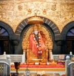 Golden Throne At Shirdi Temple