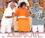 Fake Picture Of Sathya Sai Baba Holding Hands With Idi Amin
