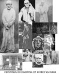 Paintings Drawings Of Shirdi Sai Baba