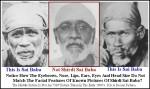 Sai Baba Fraud - Fake Sai Baba Photograph
