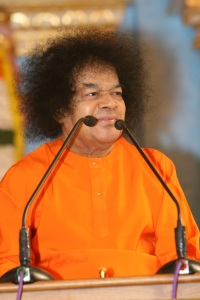 Recent Photograph Of Sathya Sai Baba At 82 - September 2008 Onam