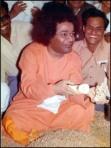 Blissful Sathya Sai Baba