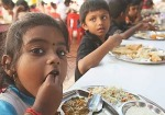 Sathya Sai Baba Center Feeds The Poor