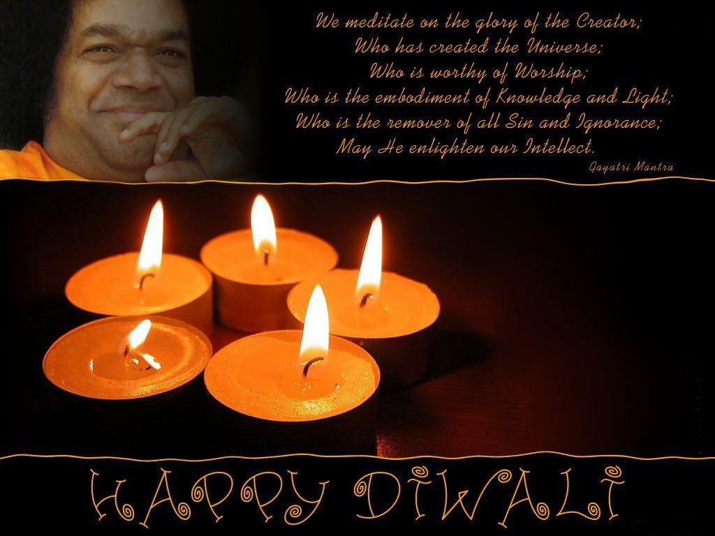 Deepavali 2008 Diwali 2008 Festival Of Lights At Sathya Sai Baba