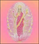 Hindu Goddess Maha Lakshmi - Goddess Of Wealth