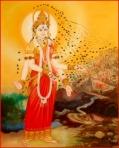 Bhramari Devi Bee Goddess