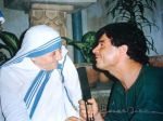 Claudio Dominguez With Mother Teresa