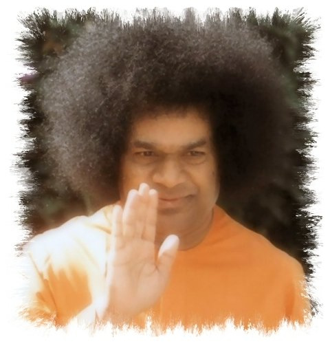 Sai Baba benedice