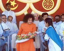 Sai Baba With Priya Mani