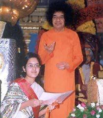 Priya Mani With Sai Baba