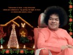 Sai Baba Christmas Greetings