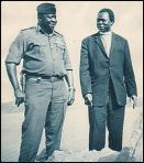 Idi Amin With Archbishop Janani Luwum