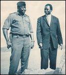 Idi Amin With Archbishop Janani Luwum