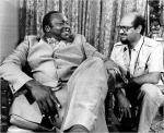 Idi Amin With Mohamed Amin