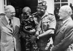 James Callaghan With Idi Amin And Dennis Hills