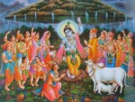 Govardhana Krishna And The Festival Of Kanuma - Mukkanuma - Pasuvula Panduga