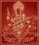 Vasant Panchami Saraswati