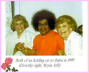 Dorothy & Moiya O'Brien With Sathya Sai Baba