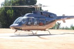 Sathya Sai Baba Arrives By Helicopter In Kodaikanal April 2009