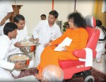 Sathya Sai Baba In Sai Shruti Kodaikanal April 2009 At Age 83