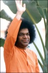Sathya Sai Baba Happy