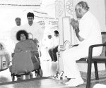 Chief Minister Yeddyurappa With Sai Baba