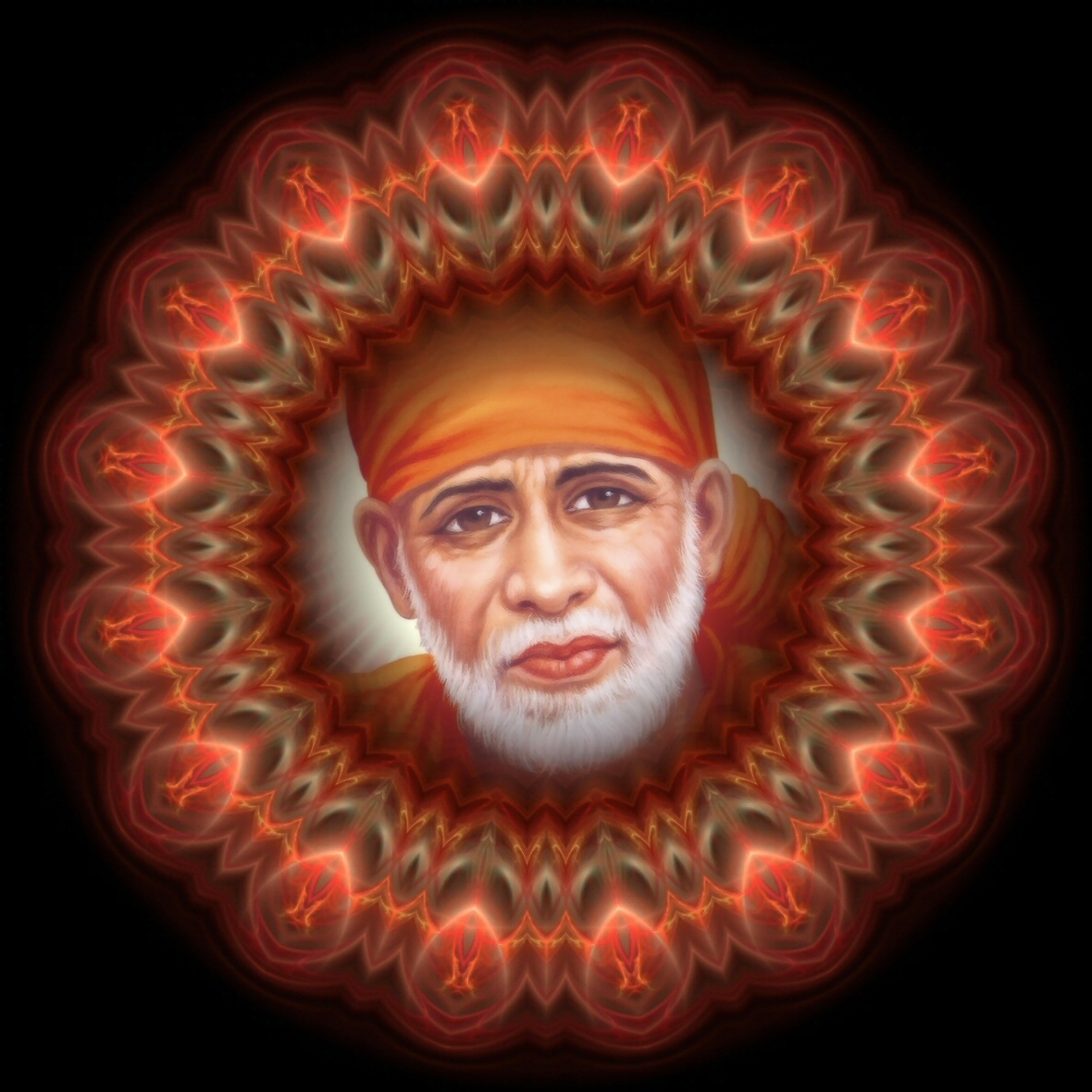 Wonderful Wallpaper Lord Sai Baba - shirdi-sai-ananda-bliss-mandala  Photograph_511434.jpg