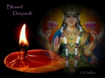 Lakshmi Blessing On Deepavali 2009