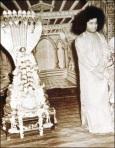 Rare Photograph Of Sathya Sai Baba