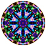 Mandala Of Light By Joe Moreno