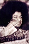 Beautiful Old Pic Of Sathya Sai Baba