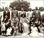Old Gold Photo Of Sathya Sai Baba