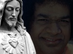 Wallpapers Of Jesus And Sathya Sai Baba