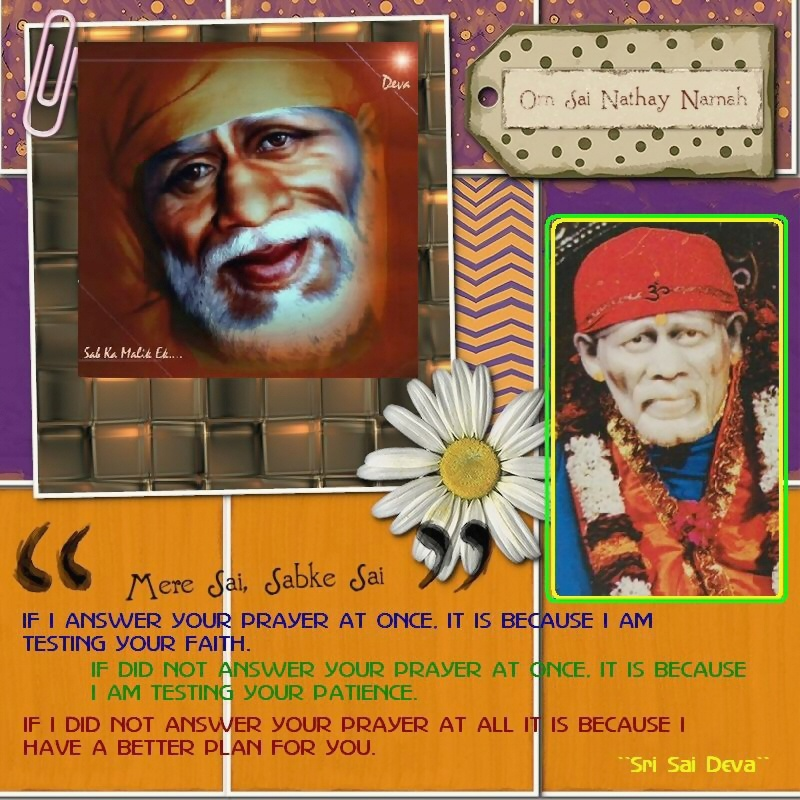 wallpapers of quotes on life. Sai Baba Wallpaper With Quotes