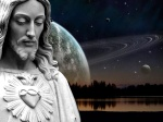 Cosmic Christ Picture Jesus Wallpaper