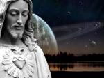 Cosmic Christ Picture Jesus Wallpaper